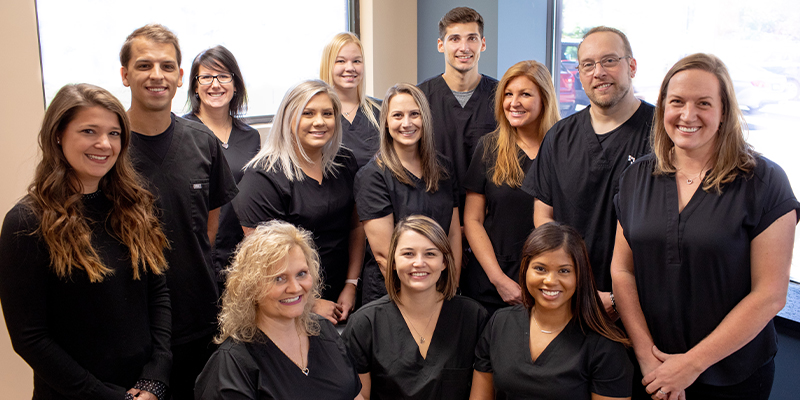 Full staff of Advanced Dental Solutions